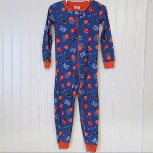 The Children's Place 3T Sports Zip Up Pjs